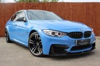 USED 2014 64 BMW M3 3.0 M3 4d AUTO 426 BHP