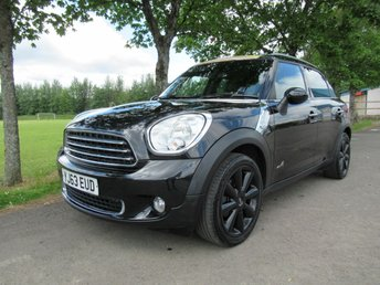 2013 MINI COUNTRYMAN 1.6 COOPER D ALL4 5d 112 BHP £7995.00
