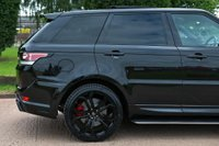 USED 2017 66 LAND ROVER RANGE ROVER SPORT 3.0 SD V6 HSE Dynamic CommandShift 2 4X4 (s/s) 5dr NAV+CAM.+RS LUMMA+PAN ROOF