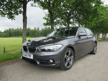2016 BMW 1 SERIES 1.5 116D SPORT 5d 114 BHP £10550.00