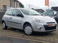 2010 RENAULT CLIO 1.1 EXTREME 3d 74 BHP £2795.00