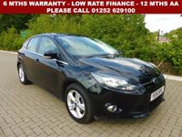USED 2011 61 FORD FOCUS 1.6 ZETEC 5d 124 BHP All retail cars sold are fully prepared and include - Oil & filter service, 6 months warranty, minimum 6 months Mot, 12 months AA breakdown cover, HPI vehicle check assuring you that your new vehicle will have no registered accident claims reported, or any outstanding finance, Government VOSA Mot mileage check. Because we are an AA approved dealer, all our vehicles come with free AA breakdown cover and a free AA history check.. Low rate finance available. Up to 3 years warranty available.