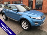 "USED 2013 62 LAND ROVER RANGE ROVER EVOQUE 2.2 TD4 PURE TECH 5DOOR 150 BHP DAB Radio   :   Satellite Navigation   :   USB & AUX Sockets   :   Heated Windscreen     Auto Headlights   :   Cruise Control   :   Bluetooth Connectivity   :   Climate Control / Air Con      Heated Front Seats   :   Full Black Leather Upholstery   :   Front & Rear Parking Sensors     18"" Alloy Wheels   :   Full Service History"