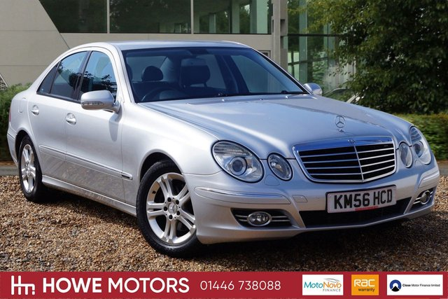 2006 MERCEDES-BENZ E CLASS 2.1 E220 CDI AVANTGARDE 4d AUTO 168 BHP FULL BLACK LEATHER BI-XENON HEADLIGHTS WITH CORNERING