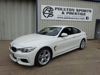 2014 BMW 4 SERIES 2.0 420D M SPORT 2d 181 BHP £SOLD