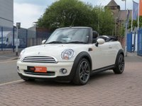 USED 2009 09 MINI CONVERTIBLE 1.6 COOPER 2d FULL LEATHER SEATS ~ BLUETOOTH ~ REVERSE SENSORS ~ AIR CONDITIONING ~ CHILI PACK ~