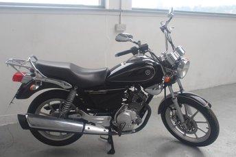 2011 YAMAHA YBR 124cc YBR 125 74 BHP £1695.00