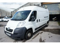 USED 2012 62 PEUGEOT BOXER 2.2 HDI 333 L3H2 1d 110 BHP NO VAT, ONLY 51K MILES, 2 OWNERS, SAT NAV, REAR CAMERA