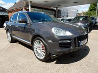 USED 2009 V PORSCHE CAYENNE 4.8 TURBO S TIPTRONIC 5d AUTO 542 BHP FULL HISTORY,TWO KEYS,HEATED SEATS,SAT NAV,CRUISE,BOSE,XENONS