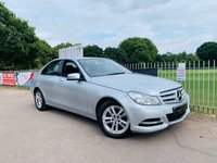 USED 2014 14 MERCEDES-BENZ C CLASS 1.6 C180 EXECUTIVE SE 4d AUTO 154 BHP Full Mercedes Service History! Sat Nav, Sensors, Leathers, B-tooth!