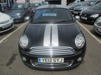 USED 2012 12 MINI COUPE AUTOMATIC 1.6 COOPER 2d AUTO 120 BHP