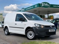 USED 2015 15 VOLKSWAGEN CADDY 1.6 C20 TDI STARTLINE 1d 101 BHP Smart One Owner Example, Finance Arranged, Rear Parking Censors.