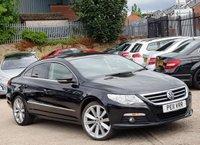 2011 VOLKSWAGEN PASSAT 2.0 CC GT TDI BLUEMOTION TECHNOLOGY DSG 4d AUTO 168 BHP £6976.00