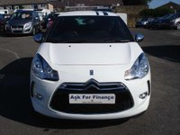USED 2011 11 CITROEN DS3 1.6 BLACK AND WHITE 3d 120 BHP LOW MILEAGE & SERVICE HISTORY