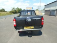 USED 2007 07 FORD RANGER 2.5 THUNDER 4X4 D/C 1d 141 BHP LOW MILES NO VAT