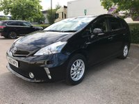 USED 2013 63 TOYOTA PRIUS PLUS 1.8 HYBRID VVTI EXCEL AUTO 7 SEATS