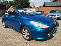 USED 2008 08 PEUGEOT 307 2.0 S COUPE CABRIOLET 2d 139 BHP Electric Roof+Cam Belt  / Water Pump Changed 2018