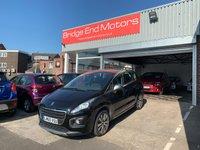 2016 PEUGEOT 3008 1.6 BLUE HDI S/S ACTIVE 5d AUTO 120 BHP £8995.00