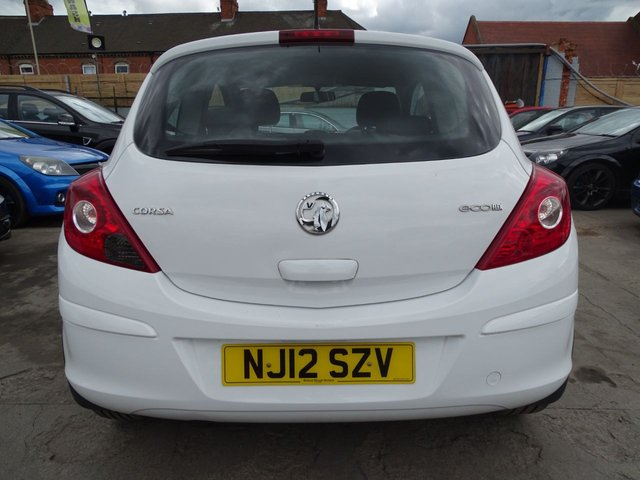 USED 2012 12 VAUXHALL CORSA 1.0 ACTIVE AC ECOFLEX GREAT MILES