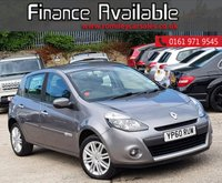 USED 2010 60 RENAULT CLIO 1.6 INITIALE TOMTOM VVT 5d AUTO 111 BHP 1 FORMER KEEPER+LOW MILE+AUTOMATIC