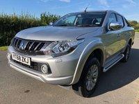 2018 MITSUBISHI L200 2.4 DI-D 4WD WARRIOR DCB 1d 178 BHP £19495.00