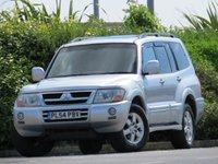 USED 2005 54 MITSUBISHI SHOGUN 3.2 ELEGANCE LWB DI-D 5d AUTO 159 BHP