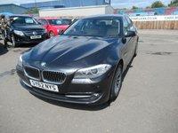 2012 BMW 5 SERIES 2.0 520D SE 4d AUTO 181 BHP £10995.00