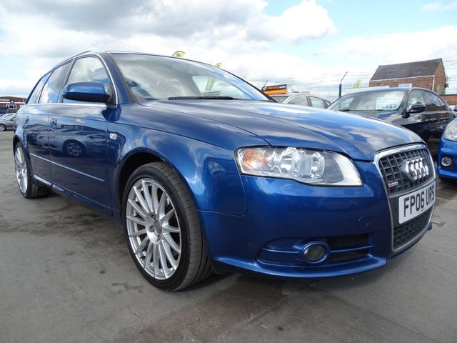 USED 2006 06 AUDI A4 2.0 T S LINE SPECIAL EDITION ESTATE 217 BHP