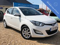 USED 2014 14 HYUNDAI I20 1.2 ACTIVE 5d 84 BHP Bright 5 door Low Mileage i20 in White