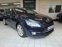 USED 2012 62 PEUGEOT 508 2.0 ALLURE HDI 4d 163 BHP SERVICE HISTORY + APRIL 2020 MOT + SATELLITE NAVIGATION + BLUETOOTH + PRIVACY GLASS + ALLOYS + HALF LEATHER TRIM + HEATED FRONT SEATS + CRUISE CONTROL + CLIMATE CONTROL