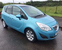 USED 2010 60 VAUXHALL MERIVA 1.4 SE PAN ROOF+CRUISE 5d 98 BHP 6 MONTHS PARTS+ LABOUR WARRANTY+AA COVER