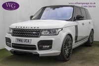 USED 2016 16 LAND ROVER RANGE ROVER 5.0 V8 AUTOBIOGRAPHY 5d AUTO 510 BHP OVERFINCH
