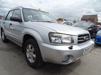 USED 2005 05 SUBARU FORESTER 2.0 X ALL WEATHER 5d AUTOMATIC LONG MOT