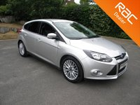 USED 2011 11 FORD FOCUS 1.6 ZETEC TDCI 5d 113 BHP Alloy Wheels, Cruise Control, Bluetooth, DAB, Cruise Control, Air Con