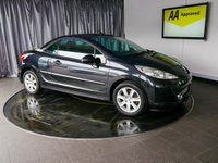 USED 2009 09 PEUGEOT 207 1.6 SPORT COUPE CABRIOLET 2d 118 BHP £0 DEPOSIT FINANCE AVAILABLE, AIR CONDITIONING, CD/MP3/RADIO, CLIMATE CONTROL, HARDTOP CONVERTIBLE ROOF, STEERING WHEEL CONTROLS, TRIP COMPUTER