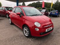 2011 FIAT 500 1.2 S 3d 69 BHP £4999.00