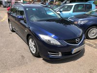 USED 2008 08 MAZDA 6 2.0 D TS 5d 140 BHP GREAT SPEC AND FUEL ECONOMY, DUAL CLIMATE, CRUISE CONTROL, SUPPLIED WITH A NEW MOT