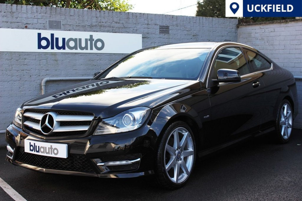 USED 2011 61 MERCEDES-BENZ C 220 2.1 CDI BLUE EFFICIENCY AMG SPORT ED125 2d 170 BHP Front & Rear Parking Sensors, Spotless Part Leather Interior Trim, Automatic Headlights & Wipers, Dual Climate & Cruise Control, Satellite Navigation and Bluetooth Connectivity...