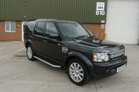 2013 LAND ROVER DISCOVERY 3.0 4 SDV6 XS 5d AUTO 255 BHP £17990.00