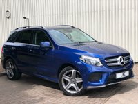 USED 2017 17 MERCEDES-BENZ GLE-CLASS 2.1 GLE 250 D 4MATIC AMG LINE 5DR AUTO 201 BHP 1 OWNER
