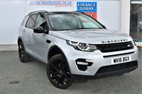 USED 2016 16 LAND ROVER DISCOVERY SPORT 2.0 TD4 HSE BLACK EDITION 5d 7 Seat Family 4x4 SUV AUTO Absolutely Stunning Colour Combination and Massive High Spec inc Black Pack Black Alloys Black Roof Panoramic Glass Roof Sat Nav Heated Leather Seats Rear Camera Towbar Parking Sensors Recent Service and MOT PREVIOUSLY LOCALLY OWNED