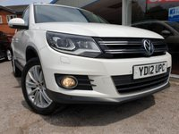 USED 2012 12 VOLKSWAGEN TIGUAN 2.0 SPORT TDI BLUEMOTION TECHNOLOGY 4MOTION DSG 5d AUTO 138 BHP