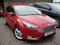 USED 2015 15 FORD FOCUS 1.0 TITANIUM 5d 124 BHP ANY PART EXCHANGE WELCOME, COUNTRY WIDE DELIVERY ARRANGED, HUGE SPEC
