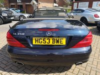 USED 2003 MERCEDES-BENZ SL 3.7 SL350 2d AUTO 245 BHP SH+Convertible+Full Leather