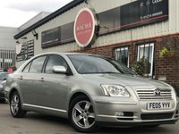 USED 2005 05 TOYOTA AVENSIS 1.8 VVT-i T3-X 5dr MOT 05/2010~AIR CON~NEW EXHAUS