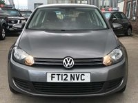 USED 2012 12 VOLKSWAGEN GOLF 1.6 TDI Match DSG 5dr FULL HISTORY~PARKING SENSORS