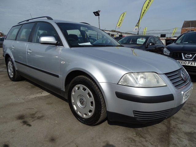 USED 2003 03 VOLKSWAGEN PASSAT 1.9 S TDI DIESEL ESTATE 5d 130 BHP TONS OF SERVICE