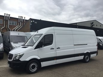 2016 MERCEDES-BENZ SPRINTER 2.1 313CDI LWB HIGH ROOF 130BHP. LOW 53K. NEW CLUTCH. FINANCE £12990.00
