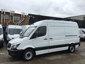 2015 MERCEDES-BENZ SPRINTER 2.1 313CDI MWB HIGH ROOF. RACKING + ROOF-RACK + SENSORS. PX £9990.00