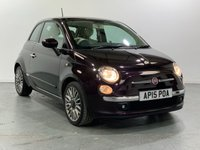 USED 2015 15 FIAT 500 1.2 LOUNGE 3d 69 BHP